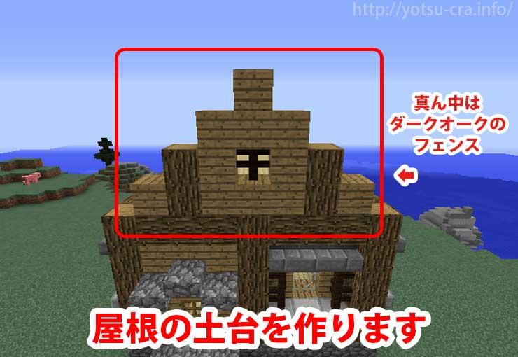 屋根の土台作り