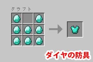 ダイヤの防具