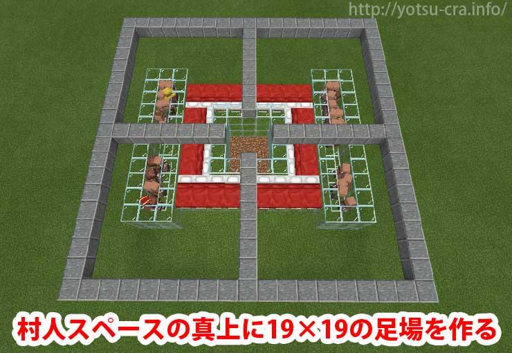 19×19の足場を作る